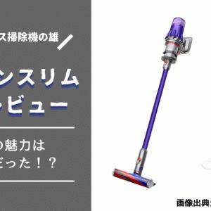 コードレス掃除機ダイソンスリム(SV18 FF)を購入!使用感は口コミ通り?