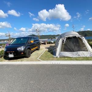 休暇村南淡路シーサイドオートキャンプ場レポート