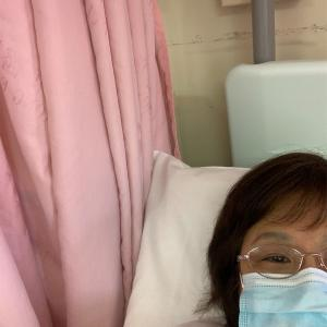 現在入院中です〜。