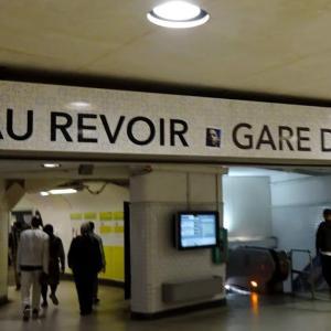 パリ北駅、様々な人たちが行き交う駅