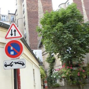 パリ15区、ある日のフランスの風景73