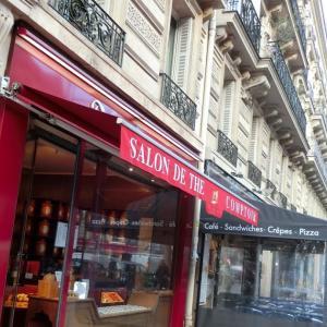 パリで中国茶、ある日のフランスの風景83