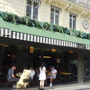 パリ、楽しくソーシャルディスタンス