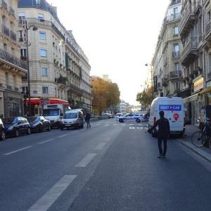 パリ、ソルボンヌで先生の国葬