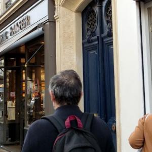 パリ5区、お馴染みのパン屋さん