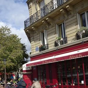 パリ・サンルイ島、ある日のお馴染みサロン・ド・テ