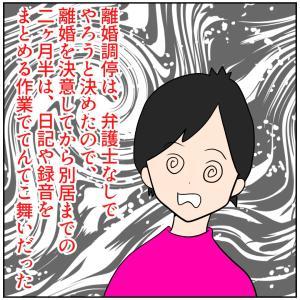 【離活漫画】クズで嘘つきな不倫モラ夫と離婚するまで。離婚調停編②