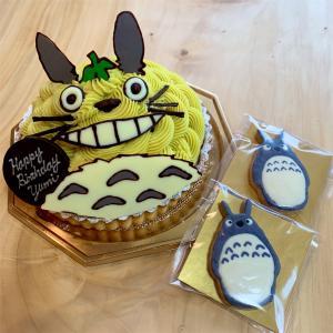 トトロのケーキでお誕生日🎂✨