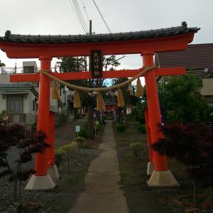 大野神社へ