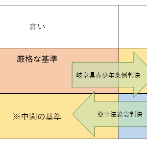 憲法の書き方4(正当化・判例はしご)