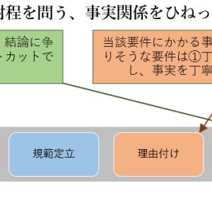 答案の書き方5(応用編・メリハリの付け方)