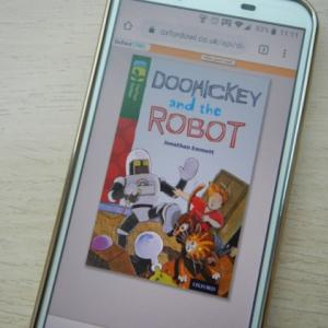ORT(Oxford Reading Tree) Level 12「Doohickey and the robot」のオススメと感想