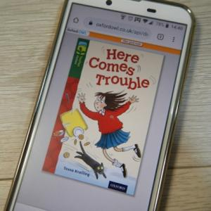 ORT(Oxford Reading Tree) Stage12「Here Comes Trouble」の語数・感想