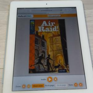 ORT(Oxford Reading Tree) Stage 14「Air Raid!」の語数・感想