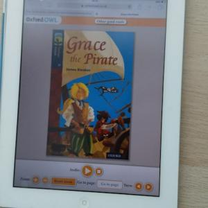 「Grace the Pirate」Oxford Reading Tree Stage14 の語数・感想