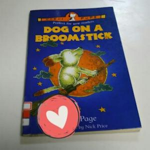 『DOG ON A BROOMSTICK』の感想と『IIBC ENGLISH CAFE』でのホビングリッシュ講座