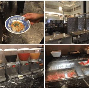 台北 南京復興駅から徒歩5-10分の王朝大酒店 (Sunny buffet)のビュッフェ晩ごはんが美味しい