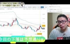 【仮想通貨】ビットコイン・リップル 予想通り!!今回の下落のポイントは見事的中!!ショートの利益をゲット!!