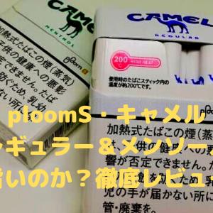 プルームS キャメル『レギュラー&メンソール』を徹底レビュー!