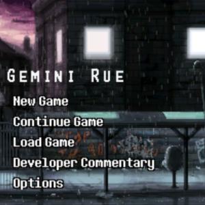 【謎解き洋ゲー】Gemini Rueをプレイしました。