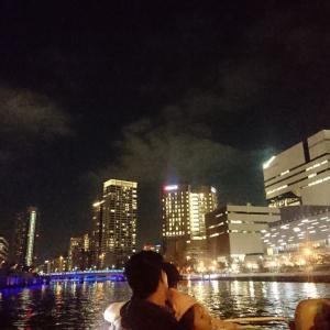 ■大阪夜景散策③~「中之島リバークルーズ」からの夜景~(大阪府大阪市)
