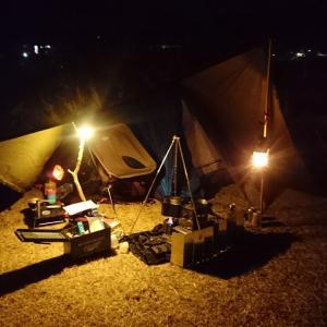 ■極寒ソロキャンプで『キャンプ初め』(愛知県豊田市)