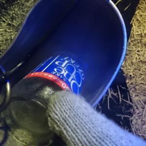 ■シンデレラフィット!『サーモスの保冷缶ホルダー』とカップ酒300ml瓶~冬キャンの友~
