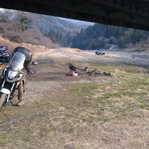 ■キャンプ可能な「牧田川の河原」と「一之瀬ポケットパーク」(岐阜県大垣市)