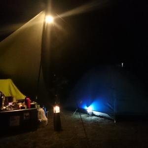 ■星が綺麗な温泉付のキャンプ場~「ならここキャンプ場」~(静岡県掛川市)