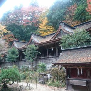 ■「近鉄全線3日間フリーきっぷ」で一人旅をしてくるよ(その9)紅葉の吉野へ電車旅『吉野水分神社』(奈良県吉野町)