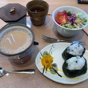 ■セントラルガーデン「花ごよみ」のおにぎりモーニング(愛知県名古屋市)