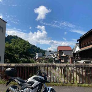 ■夏紅葉も風流『香嵐渓』と『足助の街並み』(愛知県豊田市)