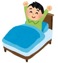 目が覚めてから起き上がるまでのタイムラグをどれだけ減らせるかが早起きに繋がる