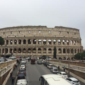 【弾丸旅行】イタリアローマ3泊5日(1)格安ツアーで並び席確保・アリタリア航空レビュー