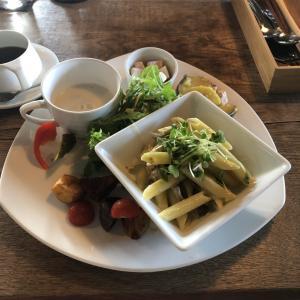 lunch&coffee お昼ごはんとお茶です