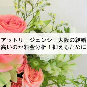 ハイアットリージェンシー大阪の結婚式費用は高いのか料金分析!抑えるためには