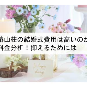 椿山荘の結婚式費用は高いのか料金分析!抑えるためには