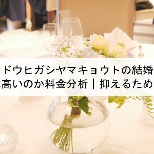 ソウドウヒガシヤマキョウトの結婚式費用は高いのか料金分析 抑えるためには