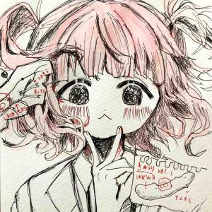 【絵日記】9月16日(木)あんころもちこ先生の個展