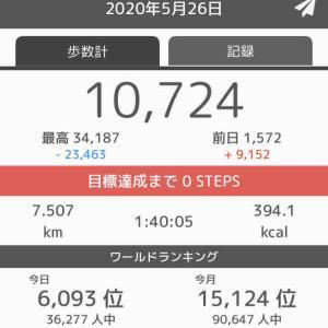 今日の準備運動と筋トレ記録!