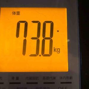 朝の体重と体脂肪!昨日の出来事!