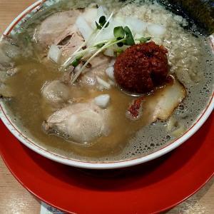 【優待ご飯】クリエイト・レストランツ・ホールディングス (3387)のつけめんTETSUで煮干鬼脂中華そば(辛味噌)を食べてきました♪