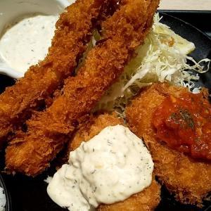 【優待ご飯】松屋フーズホールディングス (9887)の松のやで「カニクリームコロッケ&海老フライ定食」を食べてきました♪