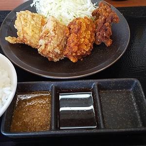 【優待ご飯】アークランドサービス(3085)の「からやま」で「赤カリ合い盛り定食」を食べてきました♪