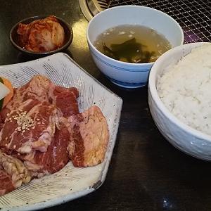 【優待ご飯】クリエイト・レストランツ・ホールディングス[クリレス] (3387)の「李宮」で「カルビランチ」を食べてきました♪