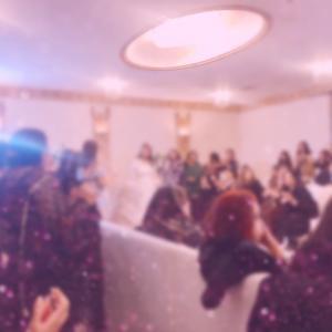 【アラブの披露宴】自宅で女性限定結婚パーティー
