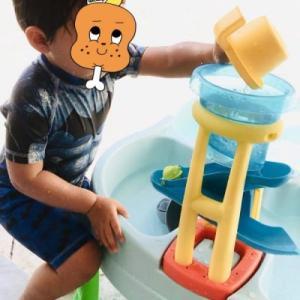 【真夏の外遊び】2歳児の息子が大喜びした朝