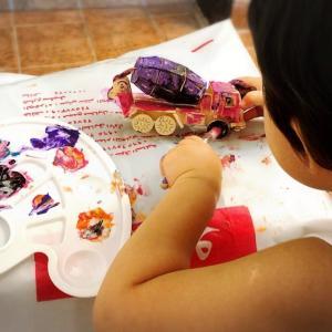 【遊びアイデア】How to keep toddlers busy