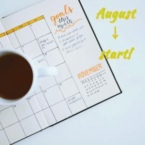 さて、8月が始まりましたね。
