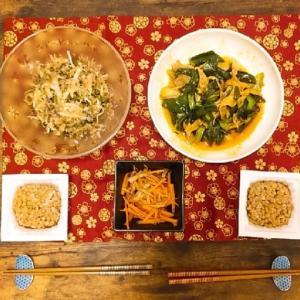 【食レポ】葉たまねぎ尽くしの夕飯_0315